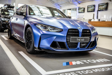 BMW M3 Competition 2021 года